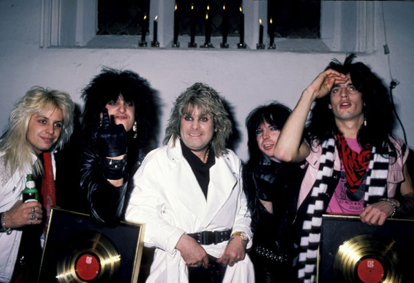 ozzy osbourne and motley crue